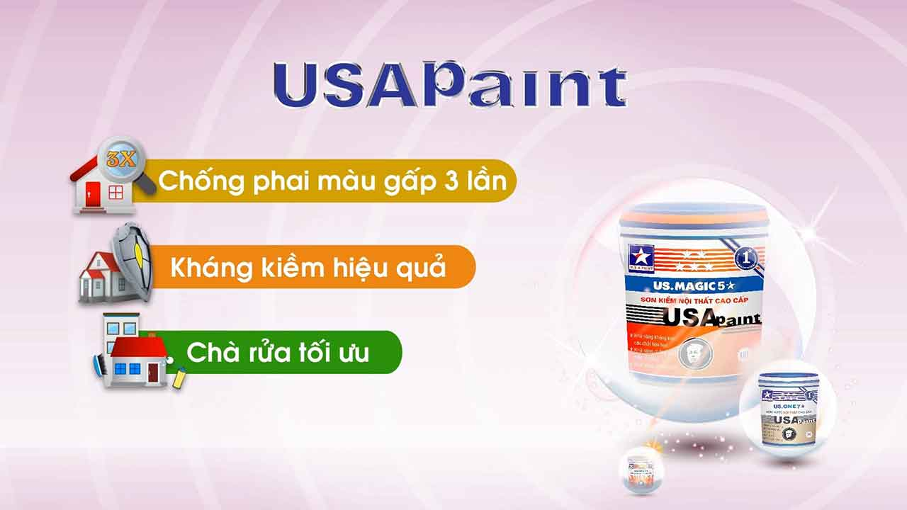 TVC Sơn USA Paint